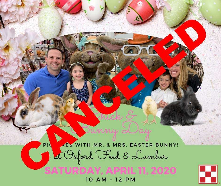OXFORD- EASTER CANCELED